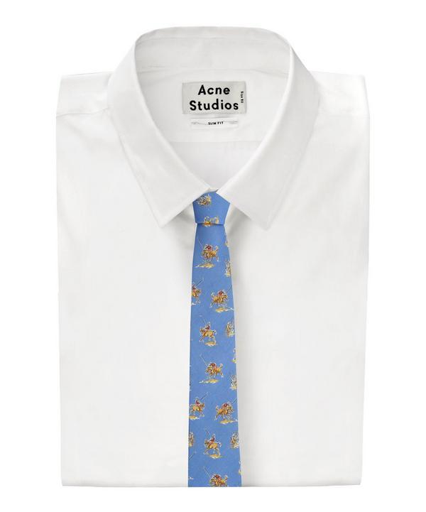 Polo Print Tie