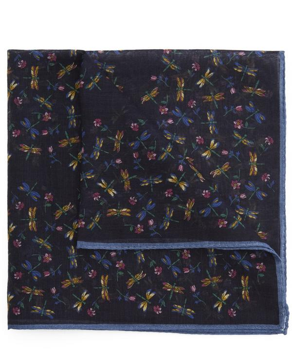 Fireflies Print Pocket Square