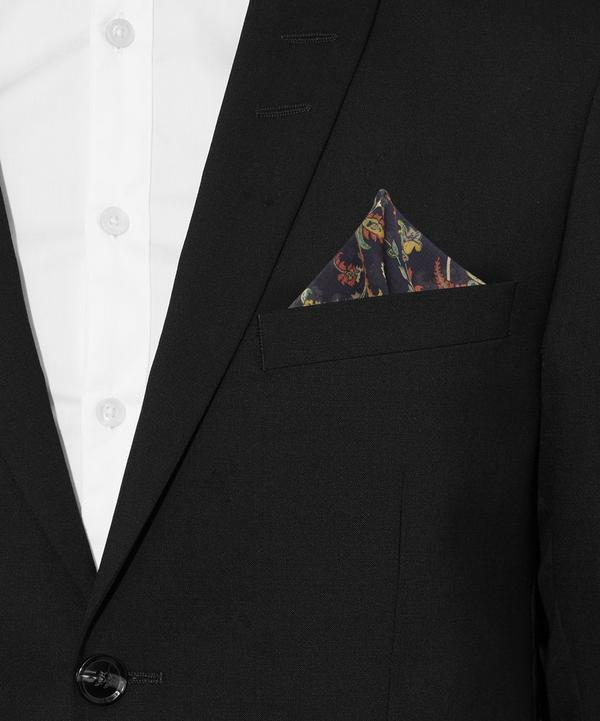 Georgian Floral Print Pocket Square