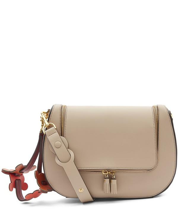 Circulus Vere Satin Leather Satchel
