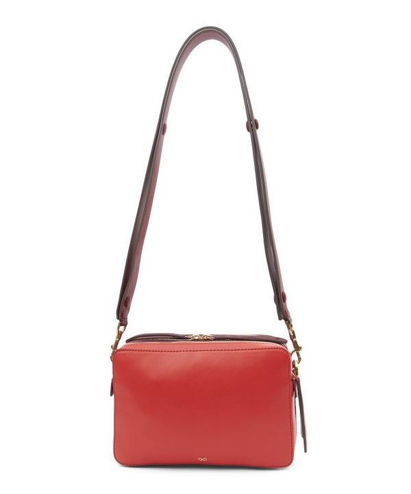 Stack Silk Leather Crossbody Bag