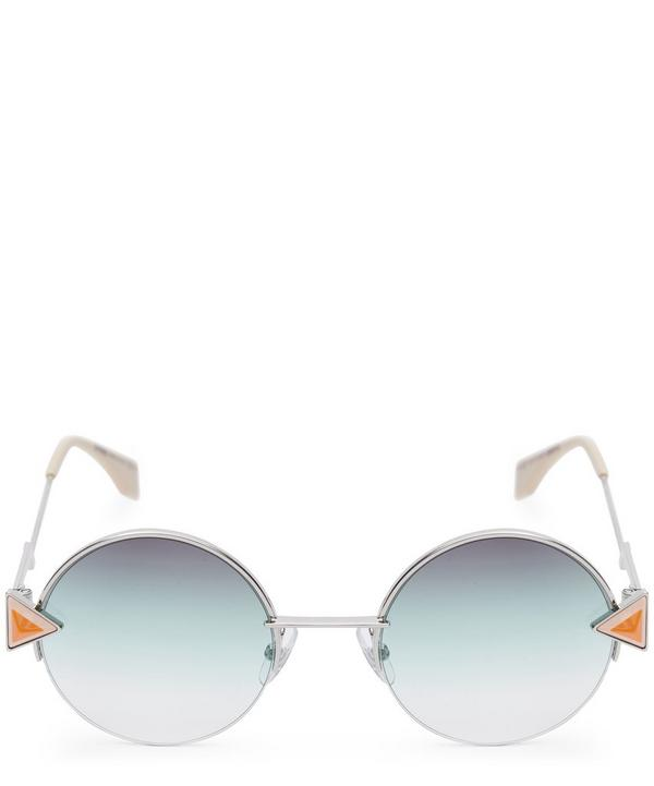 0243S Geometric Round Sunglasses