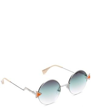 0243S Geometric Round Sunglasses