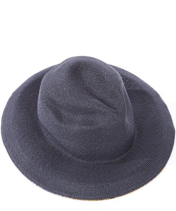 Sonja Printed Edge Paglina Hat