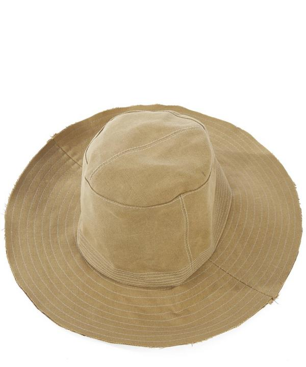 Phillip Waxed Canvas Safari Hat