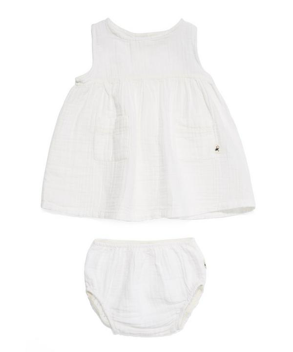Cotton Dress with Bloomers