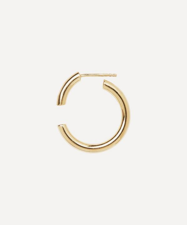 Gold-Plated Disrupted 22 Earring