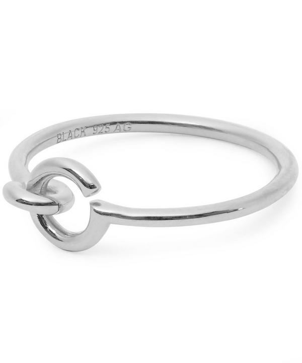Silver Hook Ring