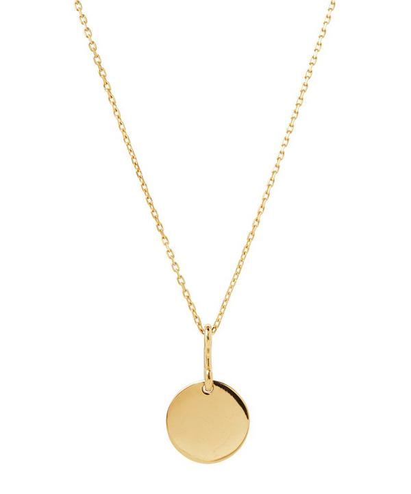 Gold-Plated 65cm Bell Necklace