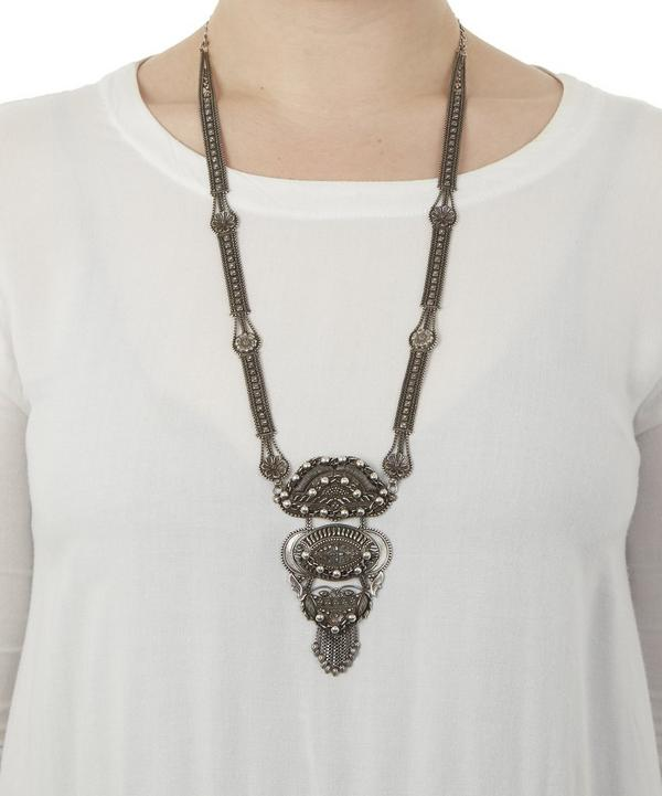 Oxidised Silver-Plated Ronan Necklace