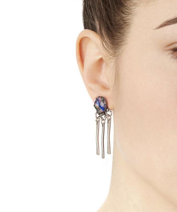 Silver-Plated Mykel Drop Earrings