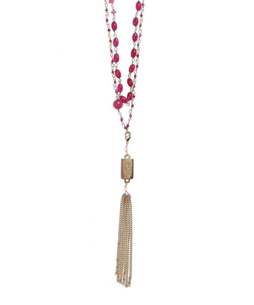 Pink Quartz Favoloso Necklace