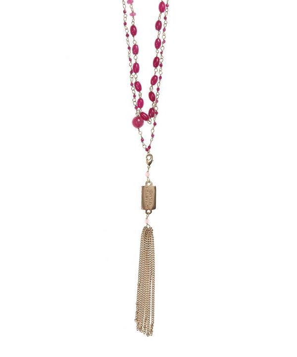 Pink Quartz Favoloso Necklace
