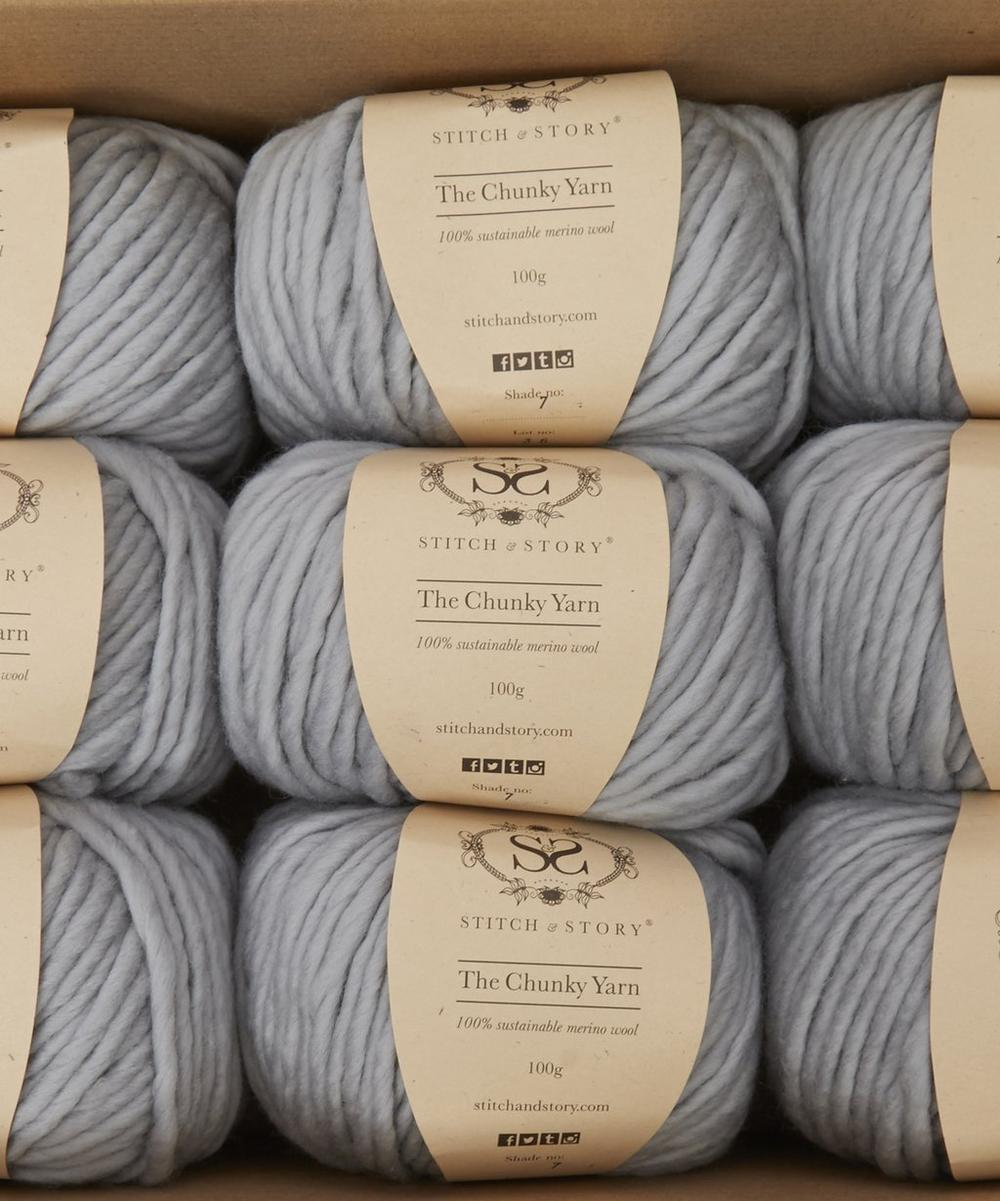 Knitting Kits For Throws : Bounty throw knitting kit liberty london