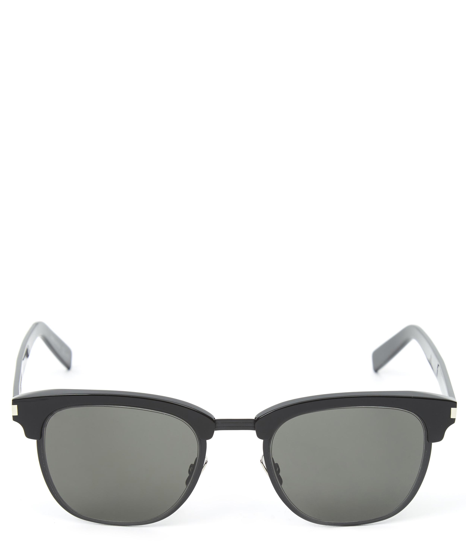 Slim Half-Frame Wayfarer Sunglasses Liberty London