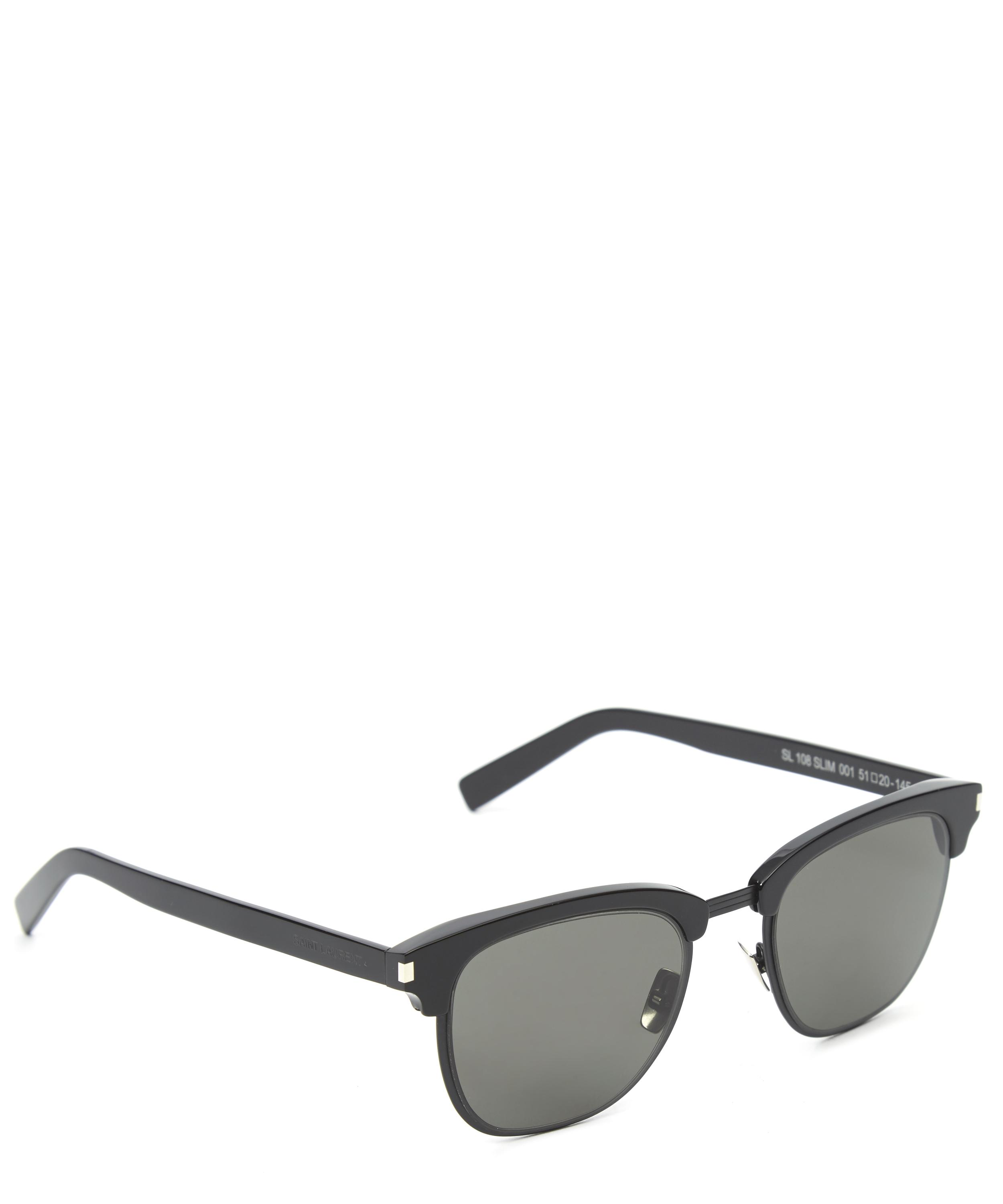Wayfarer Glasses Half Frame : Slim Half-Frame Wayfarer Sunglasses Liberty London