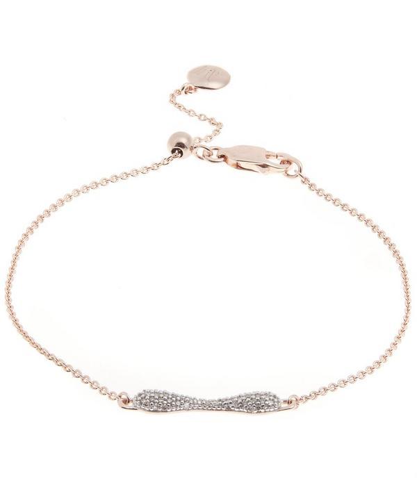 Rose Gold Nura Mini Reef Diamond Bracelet