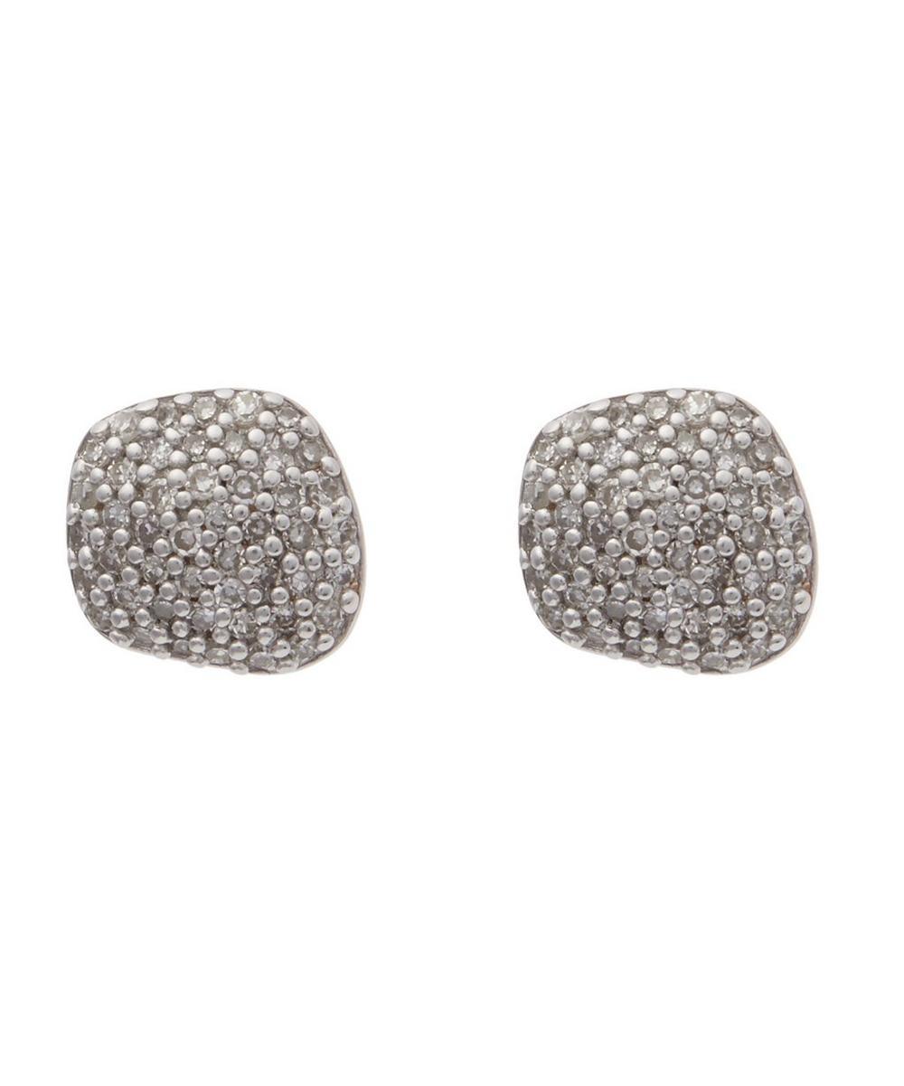 Rose Gold-Plated Nura Nugget Stud Earrings