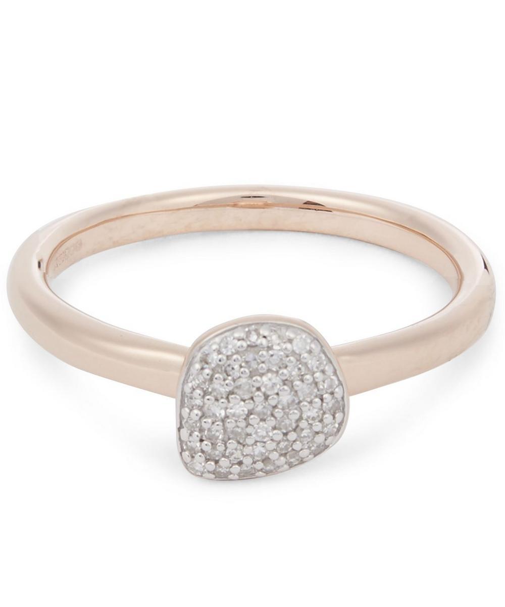 Nura Mini Pebble Stacking Ring