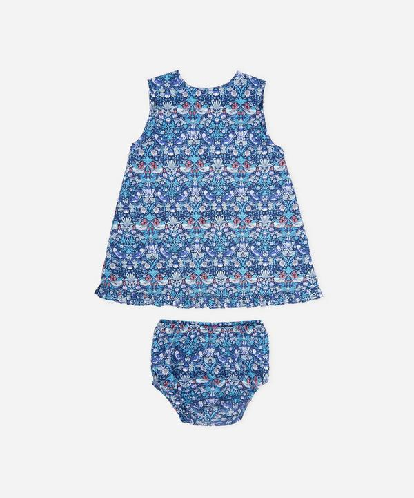 Strawberry Thief Baby Wrap Dress 3 Months - 3 Years