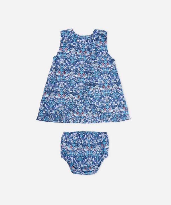 Strawberry Thief Baby Wrap Dress