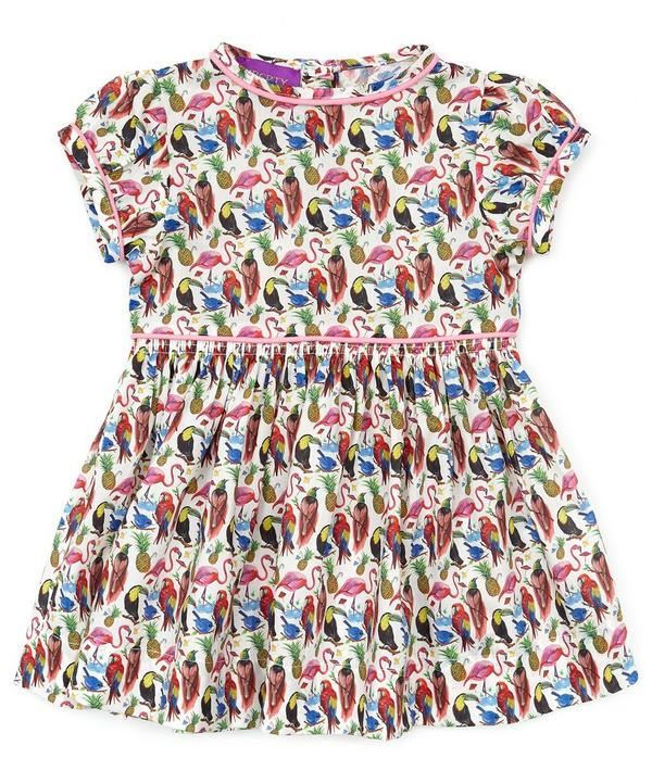 Birds of  Paradise Short Sleeve Dress 3-24 Months