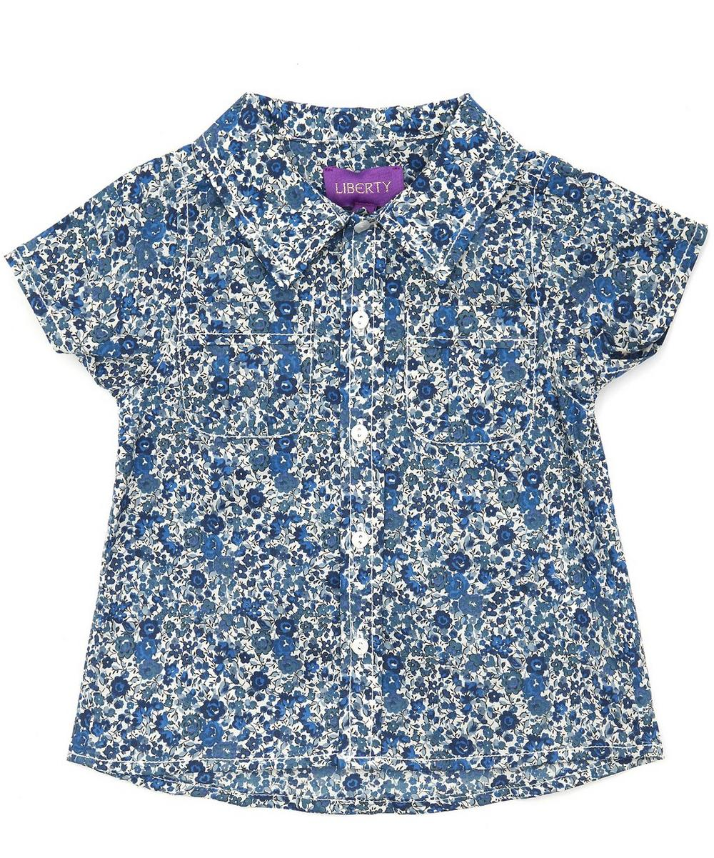 Emma Georgina Tana Lawn Cotton Short Sleeve Shirt 3-24 Months