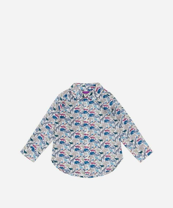 Queue For The Zoo Long Sleeve Shirt