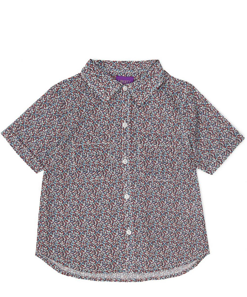 Pepper Tana Lawn Cotton Short-Sleeve Shirt 2-6 Years