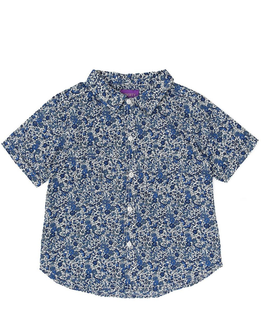 Emma Georgina Tana Lawn Cotton Short-Sleeve Shirt 2-6 Years