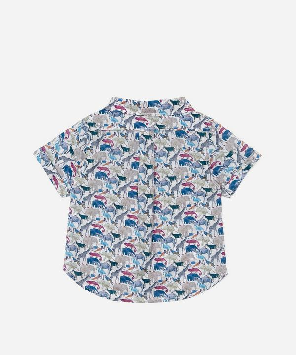 Queue For The Zoo Short Sleeve Shirt