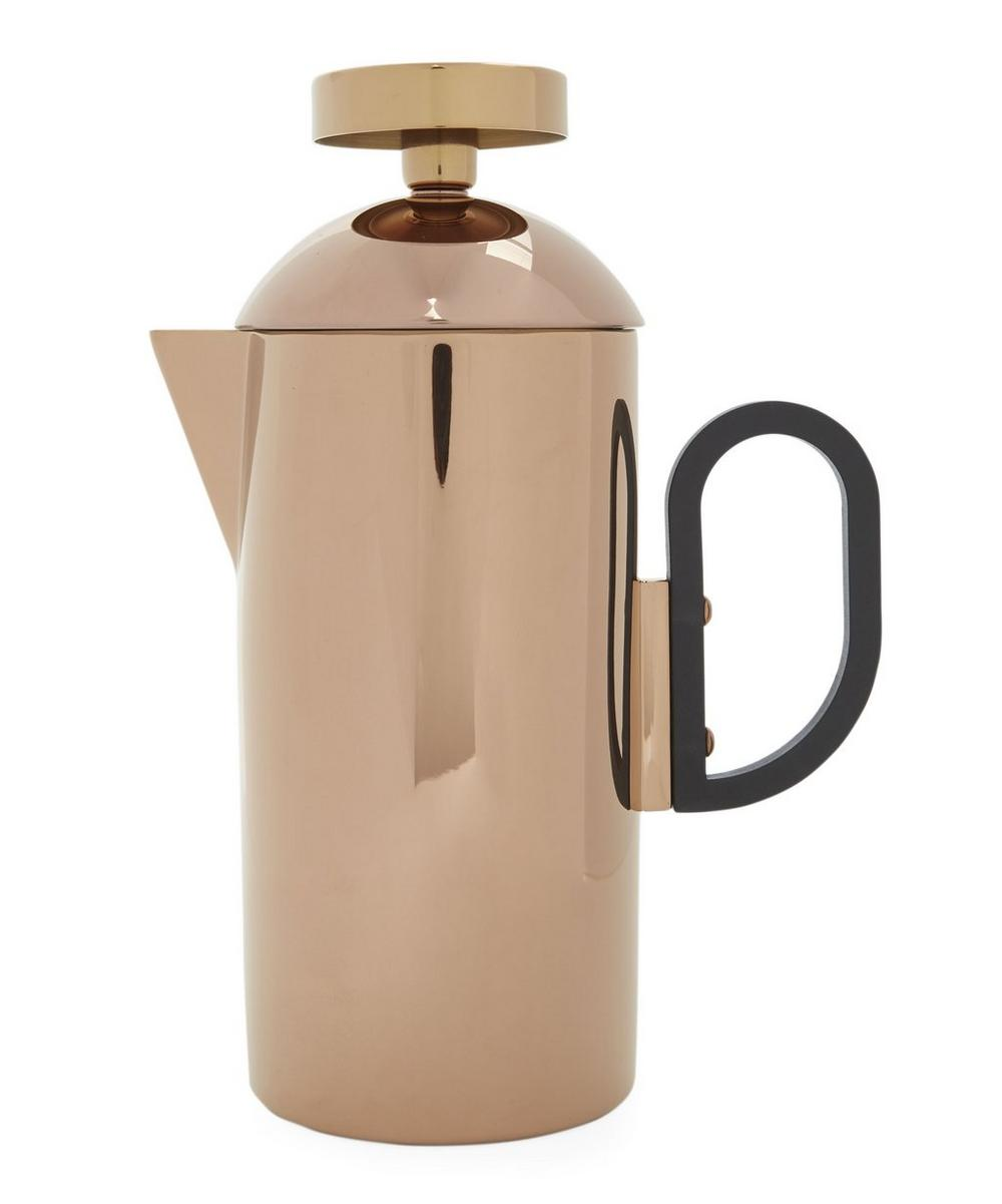 Copper-Toned Brew Cafetiere