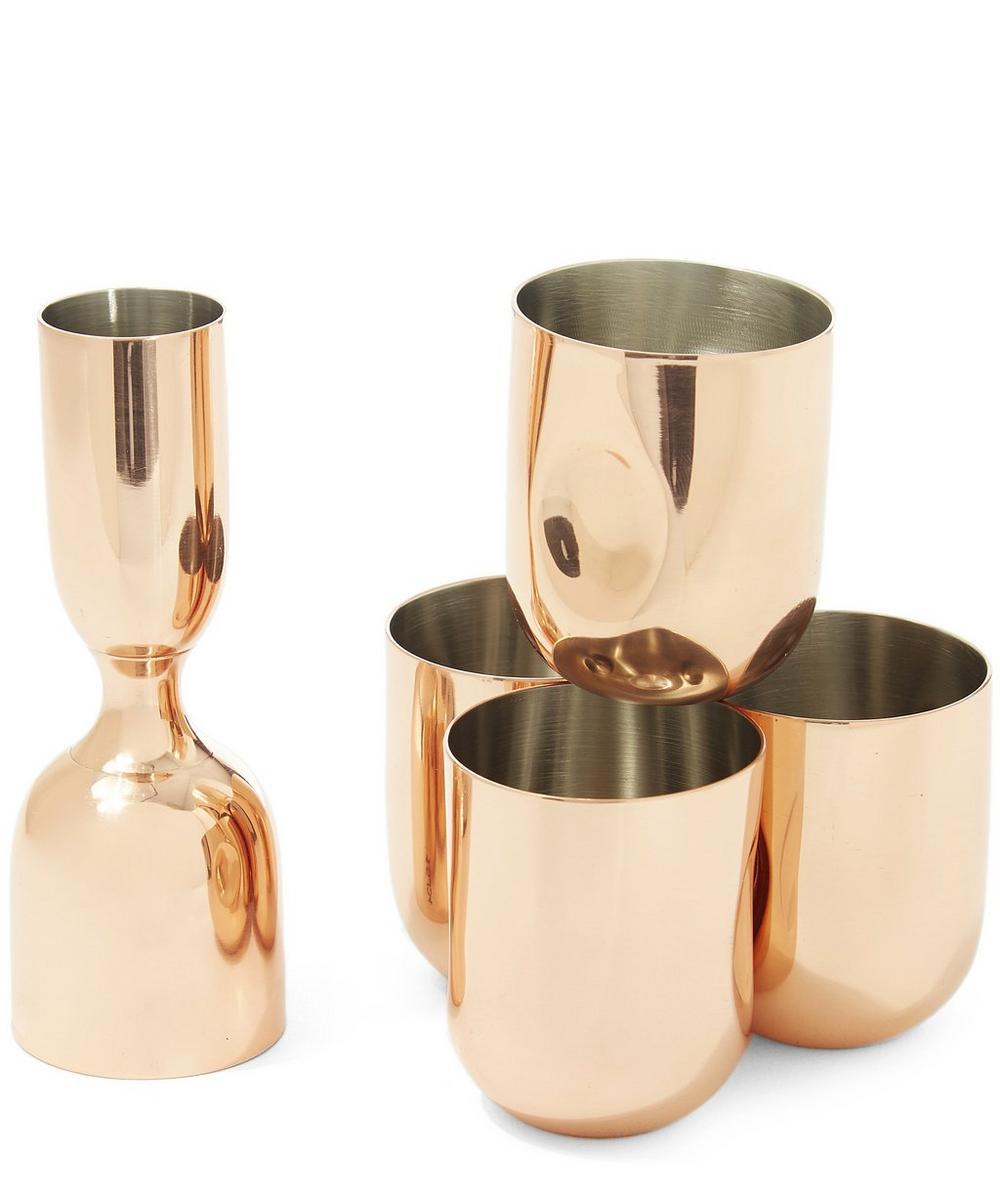 Copper Plum Shot Glass Gift Set