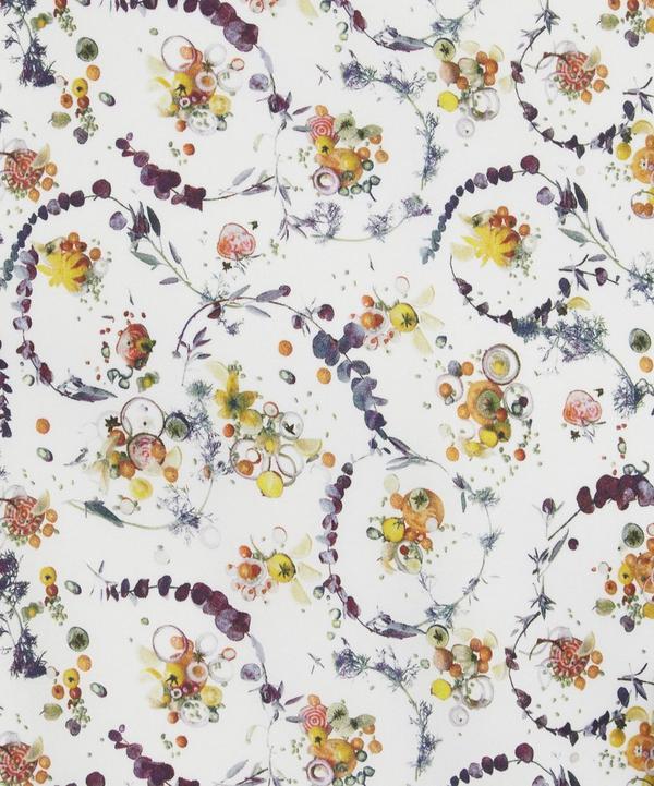 Floral Thyme Silk Satin