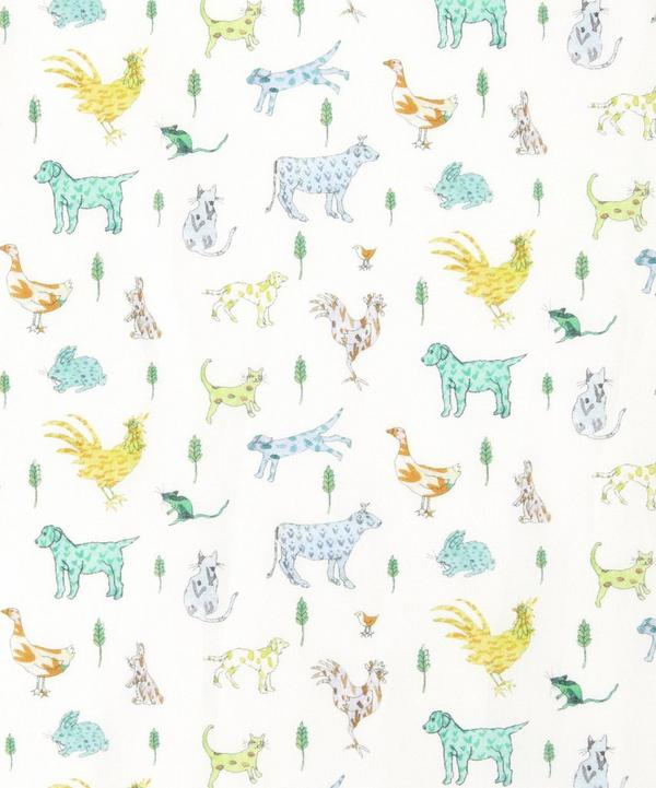Farmyard Tails Tana Lawn Cotton