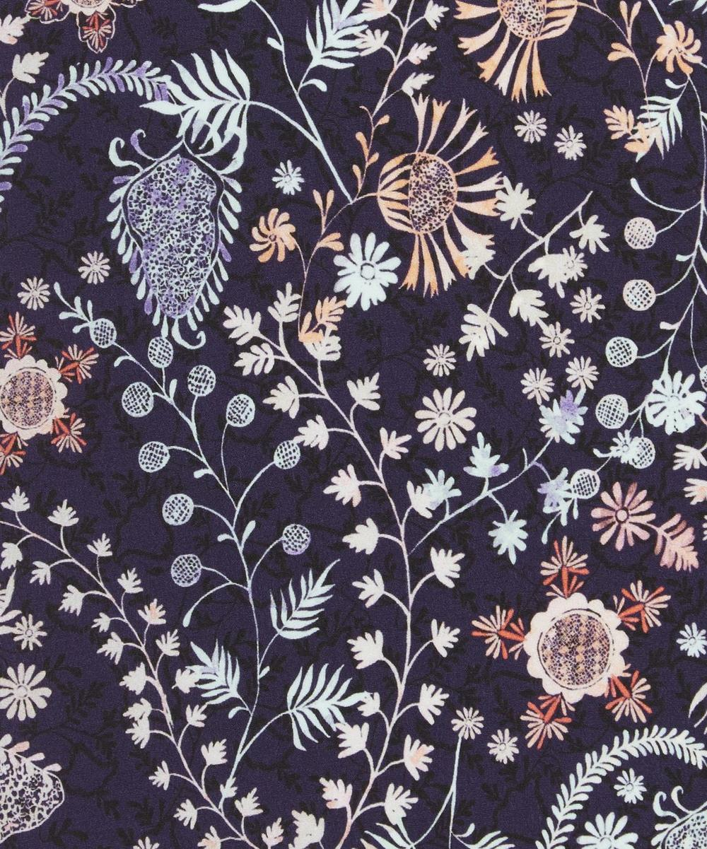 Crochet Meadows Silk Crepe de Chine