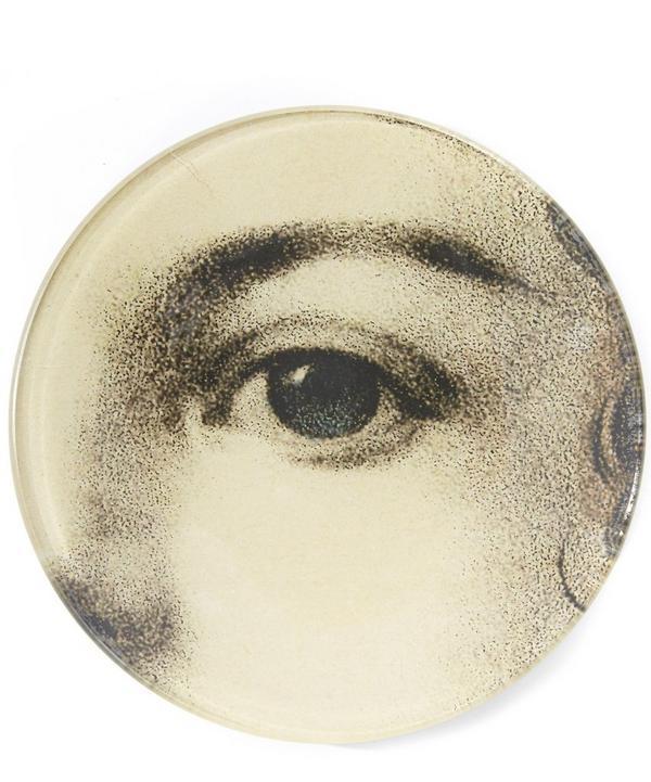 Girls Eye Round Plate