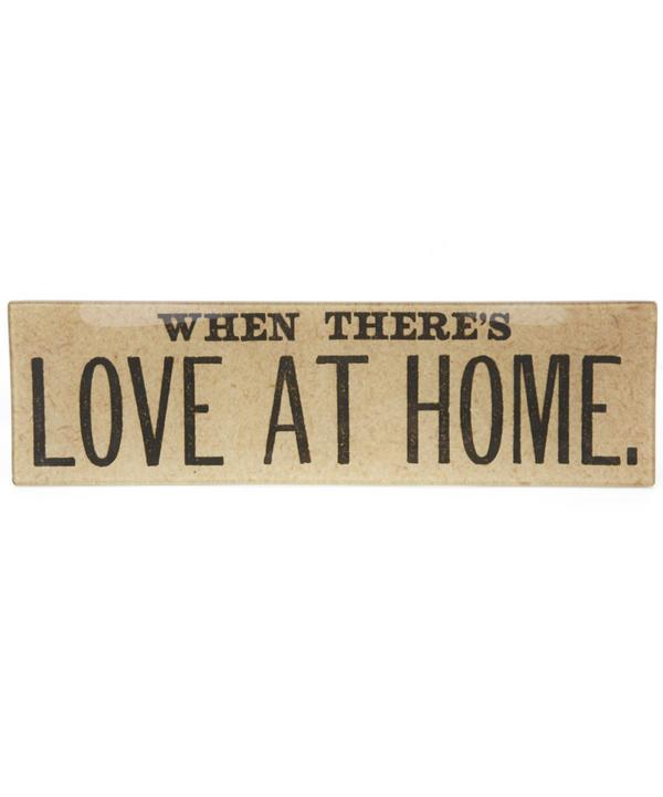 Love At Home Rectangular Tray