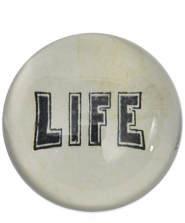 Life Paperweight