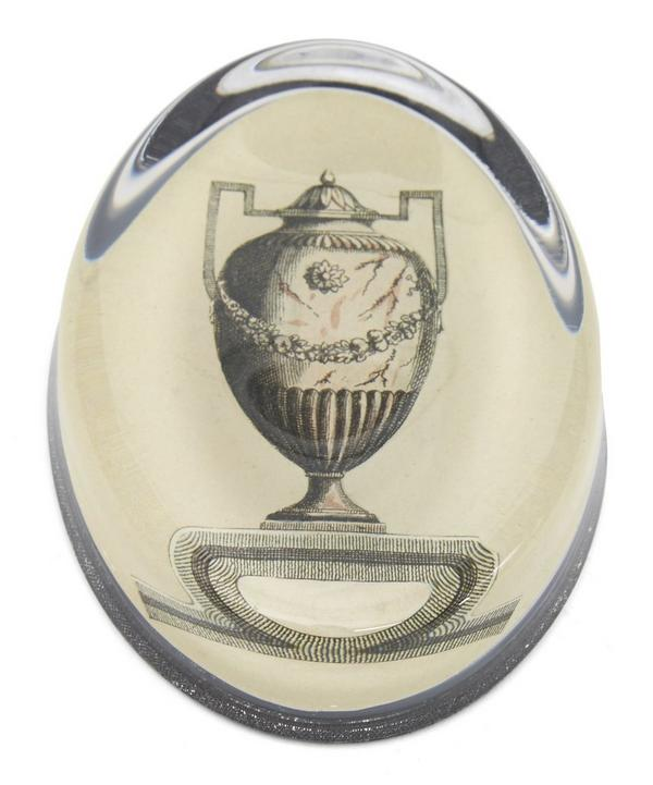 Silver Urn Paperweight
