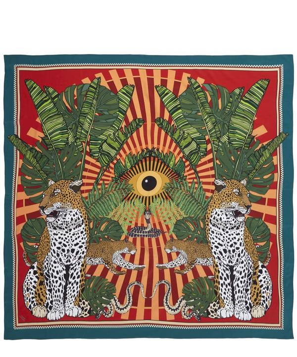 Eye of the Leopard Silk Scarf