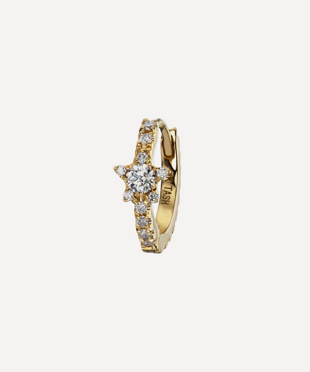 5/16' Diamond Star Eternity Earring