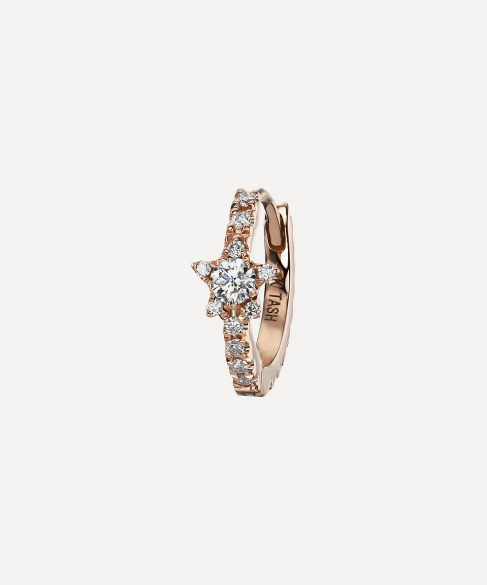 "5/16"" Diamond Star Eternity Earring"