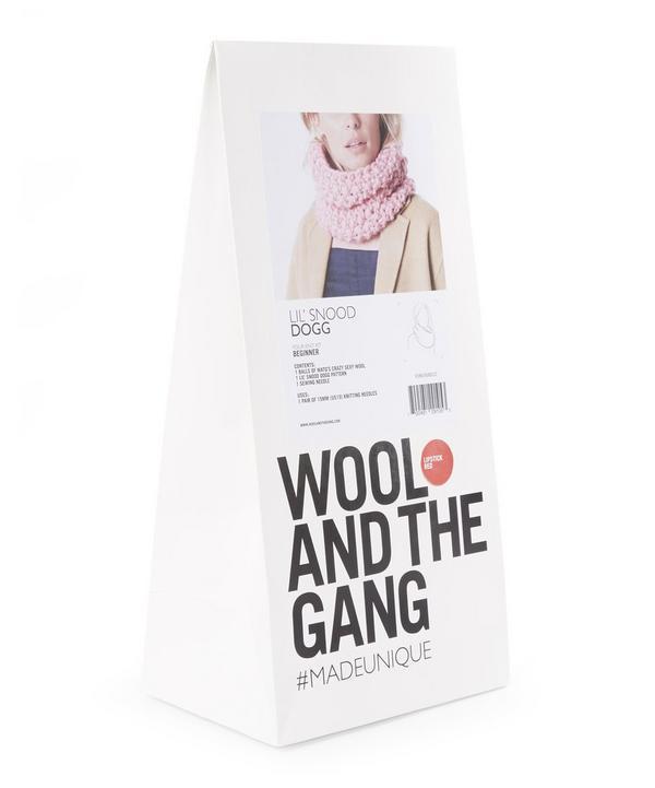 Lil' Snood Dogg Knitting Kit