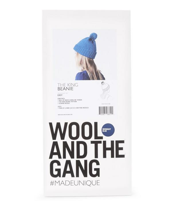 The King Beanie Knit Kit