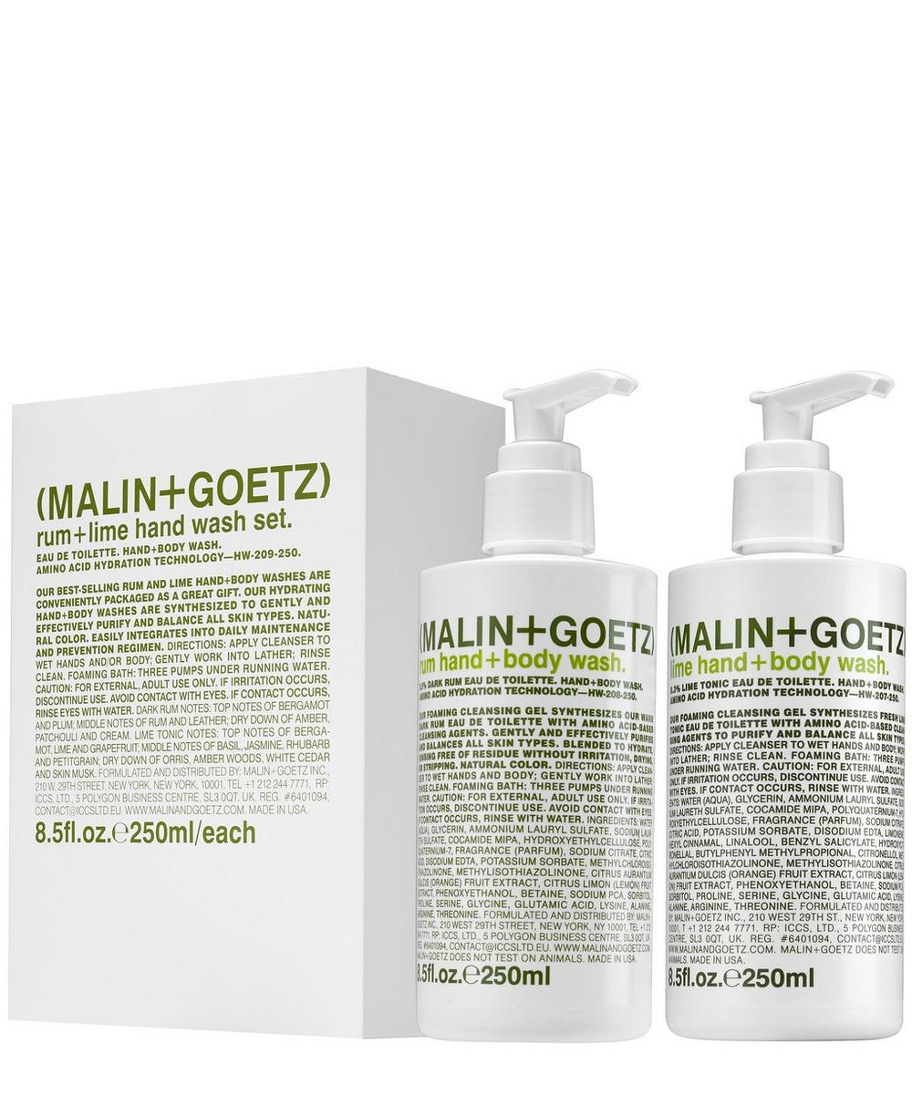 Rum and Lime Hand Wash Set