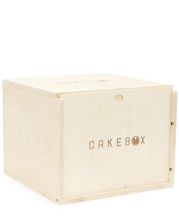 Cake Box Wooden Pastry Carrier