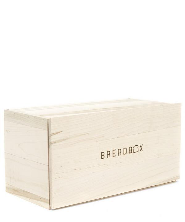 BreadBox Wooden Bread Carrier