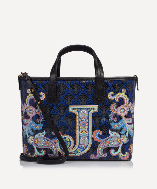 Mini Marlborough Tote Bag in J Print