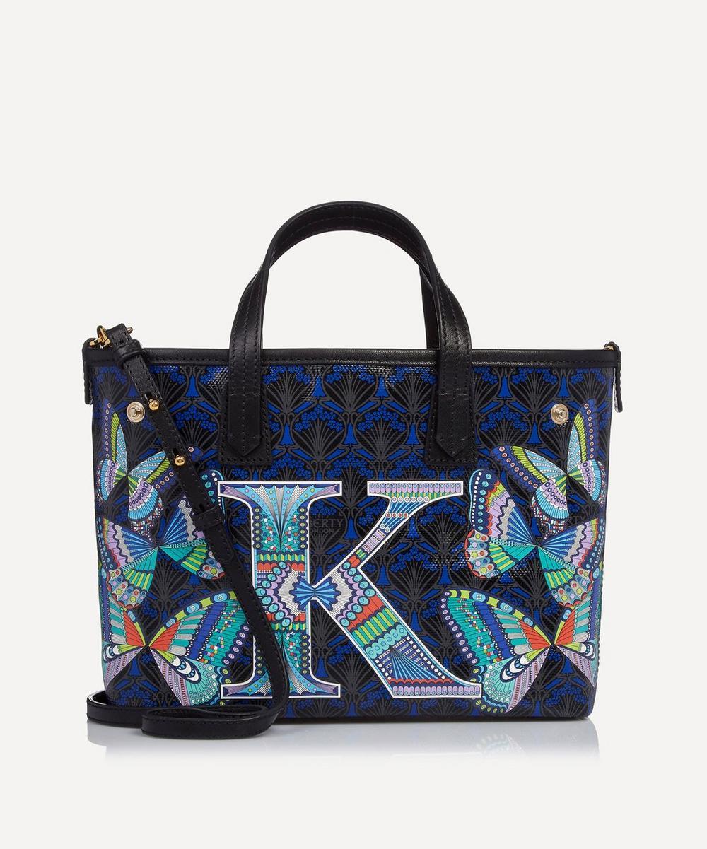 Mini Marlborough Tote Bag in K Print